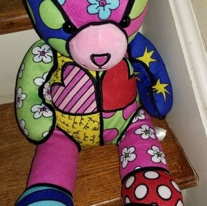 Build a Bear Britto Bear limited edition Signed